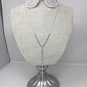 Gorjana Marlow Hammered Disc Lariat Necklace